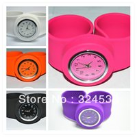 Wholesale Factory Sale UPS DHL Hot Sales Newest Slap Silicon Watch For Adults And Kids Sizes High Quality