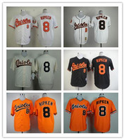 authentic orioles jerseys - 2016 New new Baltimore Orioles Cal Ripken JR jerseys throwback men s MLB baseball cheap authentic sport stitched shirts