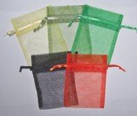 Wholesale Factory outlet cm multiple color organza bag