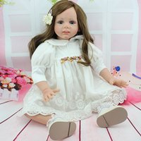bebe collection - 24 inch Reborn Baby Doll Lifelike Girls Vinyl Baby Toys Cute Soft Reborn Bebe Toddler Collection Dolls