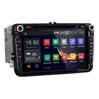 dvd player - 8 inch Din Android Car DVD Video Player For VW Volkswagen Passat B6 Skoda Octavia Navi GPS Radio VW Canbus Free GB Map Card