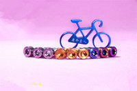 Wholesale Mountain bike headset bolts titanium M6 mm Strength headset Top Cap bolts Bicycle headset Bolts