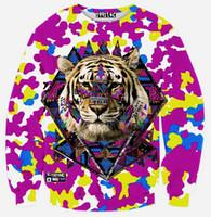 alien clothing - 2016 hot sale fashion hoodies Beautiful D Printing Alien ET long sleeved diamond hoodies sweater mens clothing