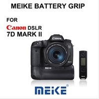 7d battery grip - Meike MK DR II Built in G Wireless Remote Control Battery Grip for Canon EOS D Mark II D2 as BG E16
