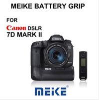 7d battery grip - Meike MK DR II MK DRII Built in G Wireless Remote Control Battery Grip for Canon EOS D Mark II D2 as BG E16