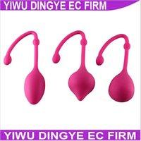 Wholesale w1028 set new style Sex Products Sexy Toys Silicone magic geisha ball Love Ball Tight Vagina Toys Vaginal Balls