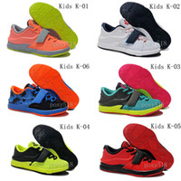 Wholesale KD Kids Basketball Shoes KDs New Arrival Cheap KD7 Kids Sneakers For Sale Colors