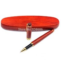 best wood polish - 2015 the best choice as Luxury gift Hand polished rosewood ballpoint pen with rosewood box support pens