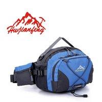 Wholesale HuWaiJianFeng Outdoor Sport Travel Cycling Multifunctional Waterproof Running Waist Bag Unisex Casual Shoulder Bag Hanging Bags