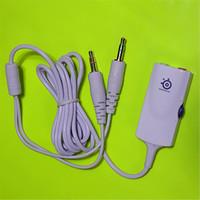 Wholesale Adapter for steelseries siberia v2 gaming headphone Extension Cable m mm headphone splitter stereo earphones headphones order lt no