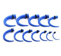 Wholesale selling Europe acrylic body piercing jewelry UV False ear ear defender