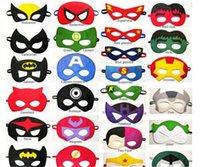 batman party supplies - 89 designs Superhero masks Batman Spiderman Hulk Thor TMNT Ninja Transformer Bumblebee mask Halloween Party Supplies for Kids B01