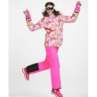 ski suit women - Women Ski Suit Ski Jacket Ski Pants Female Phibee Monoboard Ski Suit Waterproof Outdoor Jacket and Pants