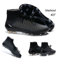 arrival boots - New Arrivals color Athletic Soccer Shoes Football Boots Magista Obra FG ACC Cleats High Top Sports Boot