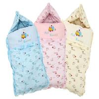 Wholesale 2016 Baby oversized sleeping bags winter as envelope for newborn cocoon wrap sleepsack sleeping bag baby as blanket swaddling