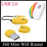 Cheap Good Quality Portable 360 Wifi 2 Mini Wireless Router Access Point Wireless Bridge 360 Portable WiFi Adapter Luxury Retail Package OTH115