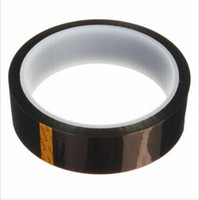 Wholesale 25mm x m Double Side Heat Resistant High Temperature Kapton Polyimide Tape for BGA