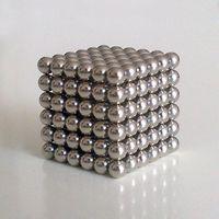Wholesale New Style mm Neodymium Magnetic Balls Spheres Beads Magic Cube Magnets Puzzle Birthday Present Children Gift QQ1014 BOX