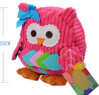 Wholesale kindergarten baby cartoon animal canvas children kid Backpack School book Zipper Bag