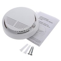 analog cordless - Ship From US Brand New Wireless Smoke Detector Home Security Fire Alarm Sensor System Cordless