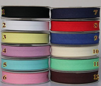 bias binding lots - 20MM Width Double Folded cotton Bias Binding Tape CM After Sewing cm Wide Tapes Ribbon meter NA5213