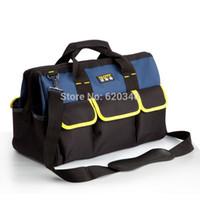 Wholesale 19 Pocket oxford cotton Tool Bag order lt no track