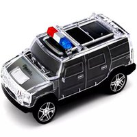 Wholesale Hot Sell Newest Diecast Cars DS H5BT Model Vehicle Bluetooth Connection Voice Prompt U DiskTF Cardaudio Input FM Radio For Children Gifts