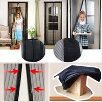Wholesale Hot Selling Door Curtain Insect Fly Bug Mosquito Screen Family Door Net Netting Mesh mm DH04