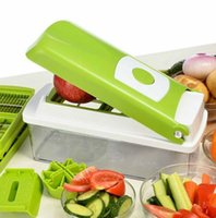 Wholesale 2015 new multifunctional shredder salad vegetable cutter set salad sliced shredded vegetable dishes device kits per Set