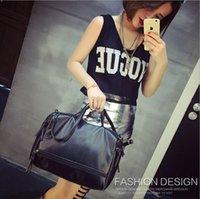 designer handbags used wo8n  3 Utilisez 2016 Fashion Designer Marque Femmes cuir Grands Sacs 脿 main noir  dames Sacs fourre-tout Femme Retro Vintage Sac bandouli猫re Messenger