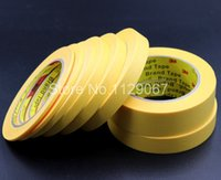 automotive paint tape - mmx50m pieces M244 High Temperature Masking Tape For Automotive Car Painting Refinish Electronic Protection Masking