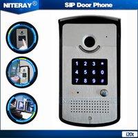Wholesale IP55 IP Door Phone Waterproof Phone Dustproof SIP IP Phone Intercom Security IP Doorbell