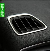 Wholesale Ang Kela outlet box air conditioning vent decorative bright circle high modified special stainless steel car patch