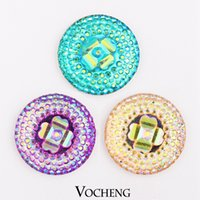 custom acrylic - Vocheng Noosa mm Acrylic Ginger Snap Jewelry Colors Custom Snap Button Vn