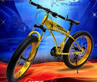 Wholesale tb463 suspension mountain bike snowmobile inch speed big wheel bicycle Wide wheel Beach car tires crude