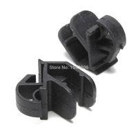 Wholesale 2x Plastic Black Bonnet Stay Hook Rod Clips For Classic For Ford Escort Sierra Capri