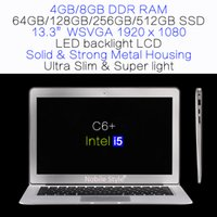 slim laptop - DHL Delivery in Stock inch i5 Intel HM76 gb ram GB SSD hard disk laptop LED backliight LCD Win7 Win8 Notebook Ultra slim C6 i5