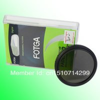 Wholesale FOTGA mm Slim Fader Variable ND Filter Neutral Density ND2 ND4 to ND400 Y402 cUxTX
