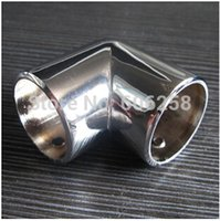Wholesale 25MM Degree Elbow Pipe Fitting Clothing Rack Assembly thick zinc alloy Connector