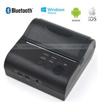 Wholesale 80mm Bluetooth Mobile Thermal Receipt POS Printer for IOS Android WP