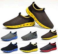 Wholesale New summer men hollow mesh shoes breathable fashion shoes men sport shoes men sneakers