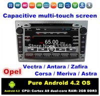 opel zafira dvd gps - HD quot Pure Android Car DVD Player for Opel Vectra Antara Zafira Corsa Meriva Astra With BT IPOD G WIFI GPS Radio RDS AUX