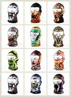 Wholesale Balaclava Face Mask Cycling Bike Hiking Ski Navy Seal Masks Motorcycle Party Masks Breathable Skull Hood Caps Hat Headgear DHL Fedex