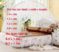 mosquito net - Summer Home Outdoor Ger Mosquito Nets Protector Against Mosquito Insects Net Encryption Double Door zipper
