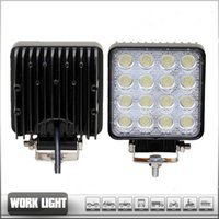 Wholesale 48W LED Work Light for Indicators Motorcycle Driving Offroad Boat Car Tractor Truck x4 SUV ATV Flood V V