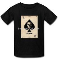 ace shirts - Ace of Spades Skull Theme T Shirt Custom Men s New Cotton T Shirts