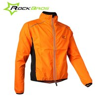 Wholesale ROCKBROS Tour de France Cycling Men Women Sportswear Riding Reflective Jersey Clothing Long Sleeve Wind Coat Jacket Colors