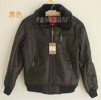 air cuffs - Fall Europe United States Air Force men pilots fur brand casual leather jacket screw cuffs motorcycle clothing M XXL