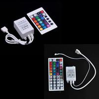 Wholesale RGB Controller LED Strip light Keys IR Remote Controller for RGB SMD string Lights V