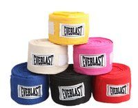 Wholesale Width cm Length M Cotton Sports Strap Boxing Bandage Sanda Muay Thai MMA Taekwondo Hand Gloves Wraps cotton ventilate newest